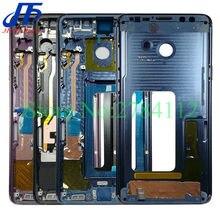 10 pezzi per Samsung Galaxy S9 Plus S9 + G960F G960U G965U G965F custodia Display LCD cornice centrale cornice centrale cornice telaio