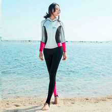 Vogue XS Baju Renang Wanita Plus Ukuran 0.5 Mm Neoprene Lengan Panjang Baju Renang Diving Suit Surfing Surfing Wetsuit Spearfishing Suit New #6(China)