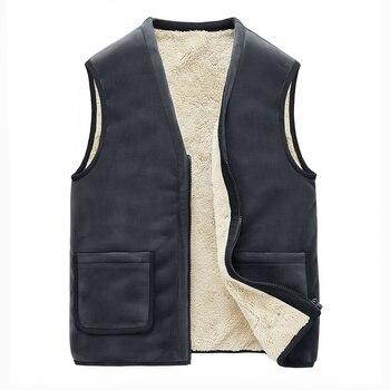 2019 New Arrival Brand Men Sleeveless Jacket Winter Vest Male Slim Vest Mens Windproof Warm Waistcoat Plus Size 5XL Casual Coats