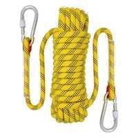 20 м верёвка для скалолазания на открытом воздухе, диаметр 12 мм, аксессуары для походов на открытом воздухе, высокопрочная веревка, спасатель...