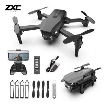Fpv Mini Drone 4k HD Dual Camera 4k 1080p Foldable Drones With Camera Altitude Hold Helicopter RC Quadcopter Black/Gray Dron Toy