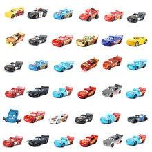 Original disney pixar carros 2 3 brinquedos relâmpago mcqueen mate jackson tempestade ramirez 1:55 liga de metal fundição carro brinquedo do miúdo presente