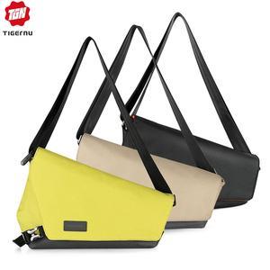 Image 1 - Tigernu Fashion RFID Chest Bag Water Resistant Sling Bag Male Travel Waterproof Crossbody Bags Satchel For Men back bag for boys