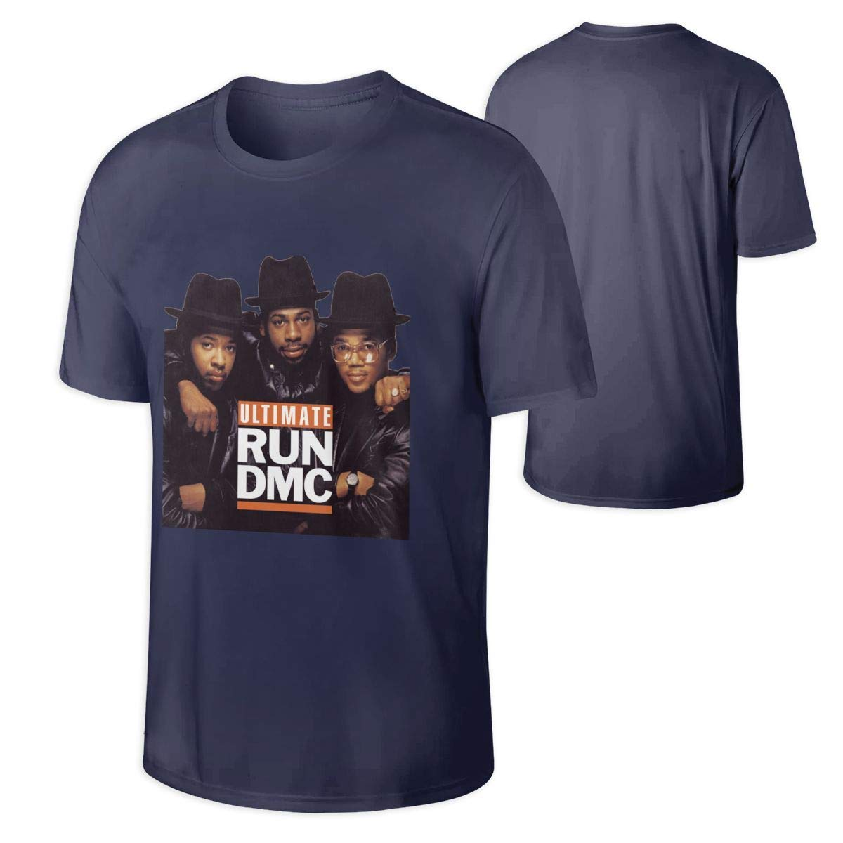 Run DMC Eiffel Tower Rap Licensed Tee T-Shirt Men