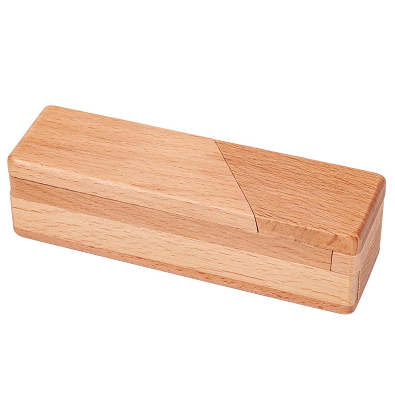 Wooden Secret Opening Box Brain Teaser Puzzle Mysterious Magic Drawers With Hidden Compartments Gift Boxes Dropings