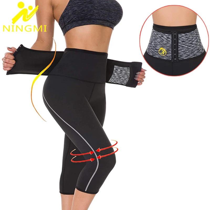 Women/'s Slim Tone Yoga Fitness Leggings Waist Trainer Tummy Control Body Shaper