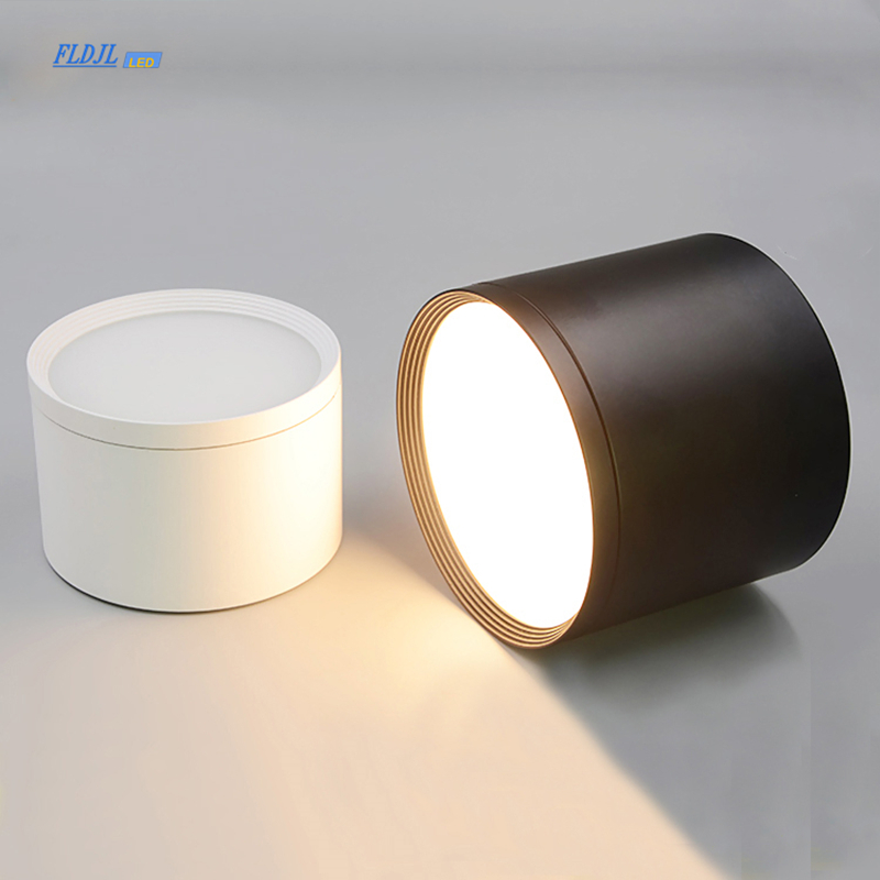 Surface Mounted Ceiling light SMD5730 5W7W12W18W AC85-265V lamp COB Led indoor lighting Spot light  led driver