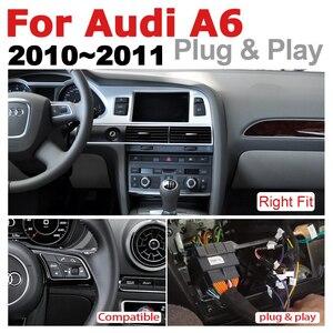 Image 3 - Auto Android Multimedia player Für Audi A6 4F 2010 ~ 2011 MMI 2G MMI 3G GPS Navi Karte stereo Bluetooth Ips bildschirm RAM 4G ROM 32G