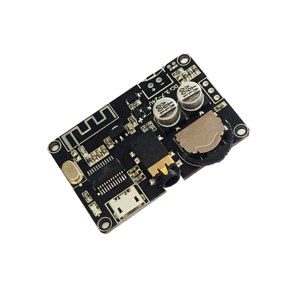 Taidacent Car Wireless Music Receiver Module 3.5mm Jack DIY Bluetooth 5.0 Audio Receiver Module Bluetooth MP3 Decoder Board
