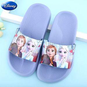 2019 nouveau véritable Disney congelé elsa mickey Sofia enfants chaussures bébé pantoufles hiver anti-dérapant garçons filles enfants jouet cadeau(China)