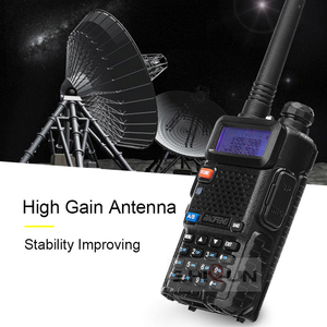Image 5 - 2 adet Baofeng BF UV5R amatör radyo el telsizi Pofung UV 5R 5W VHF/UHF radyo çift bant iki yönlü telsiz UV 5r CB radyo