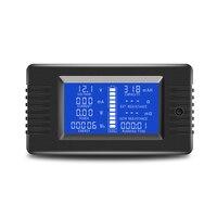 0 200V 10A דיגיטלי סוללה בודק מובנה שאנט קיבולת התנגדות חשמל מתח מד צג|מדי וולט|כלים -