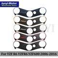 Мотоциклетная верхняя Тройная Зажимная наклейка на хомут для Yamaha YZF R6 YZFR6 YZF600 2006 2007 2008 2009 2010 2011 2012 2013 2014 2015 2016