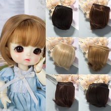 New Arrival  Dolls DIY hair Straight very soft  Fiber Wig BJD SD Hair For Doll Wigs Multiple Color Options DIY Toys For Children цена 2017