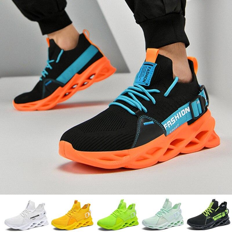 Мужские кроссовки для бега, модные брендовые дышащие Спортивные Повседневные кроссовки, увеличивающие рост, мужские кроссовки|Беговая обувь|   | АлиЭкспресс