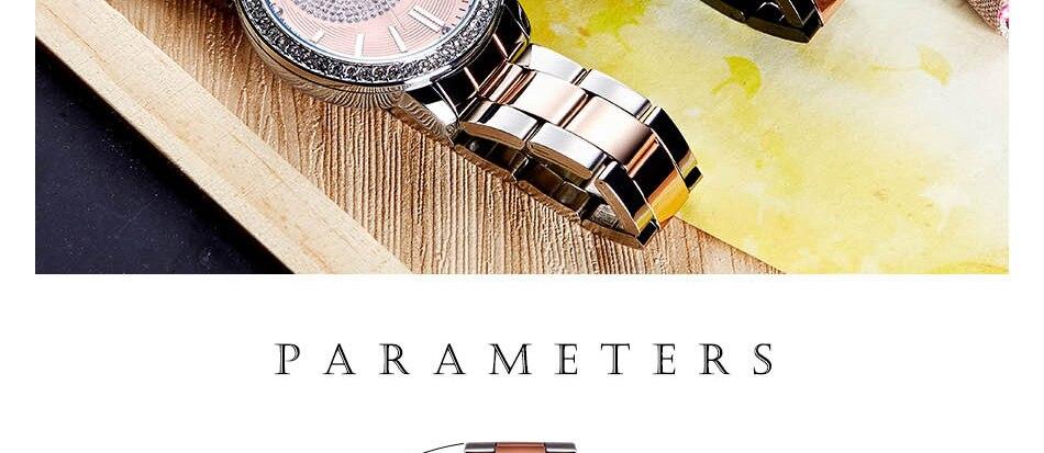 luxo feminino relógio de pulso menina relogio feminino