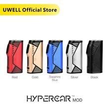UWELL Hypercar Mod 80 واط صندوق ضئيل لتشكيل قلوب المسبوكات سيجارة إليكترونية عصرية متوافقة مع دوامة خزان البخاخة