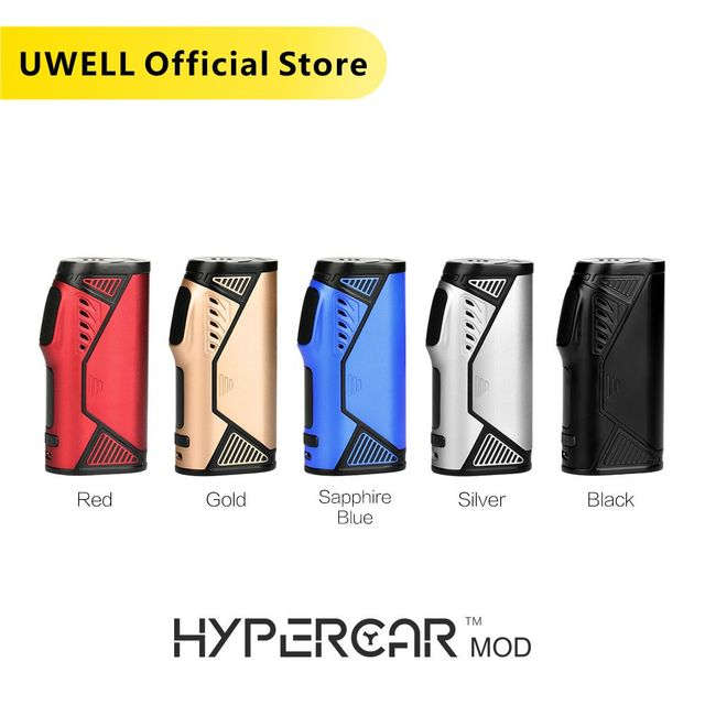 UWELL Hypercar Mod 80W TC Box Mod Electronic Cigarette Compatible with Whirl Tank Atomizer