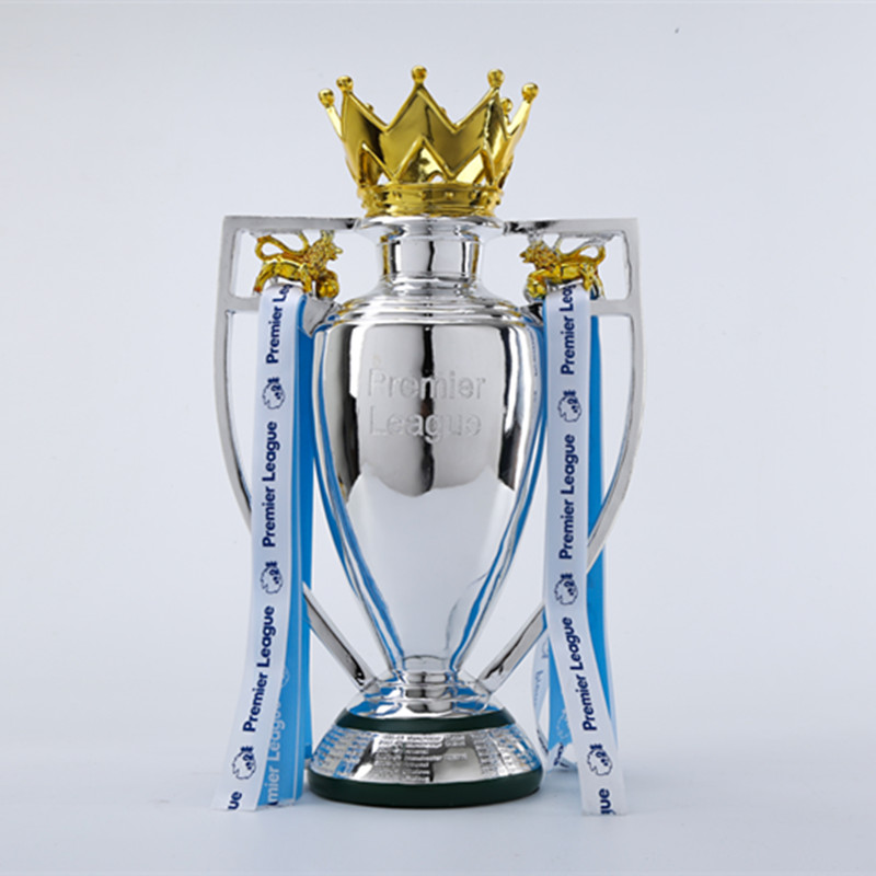 New 2019 1:1 League Trophy Football Trophy Collection Model Barclays Cup Resin Trophy Home Decor Fan Supplies R4351