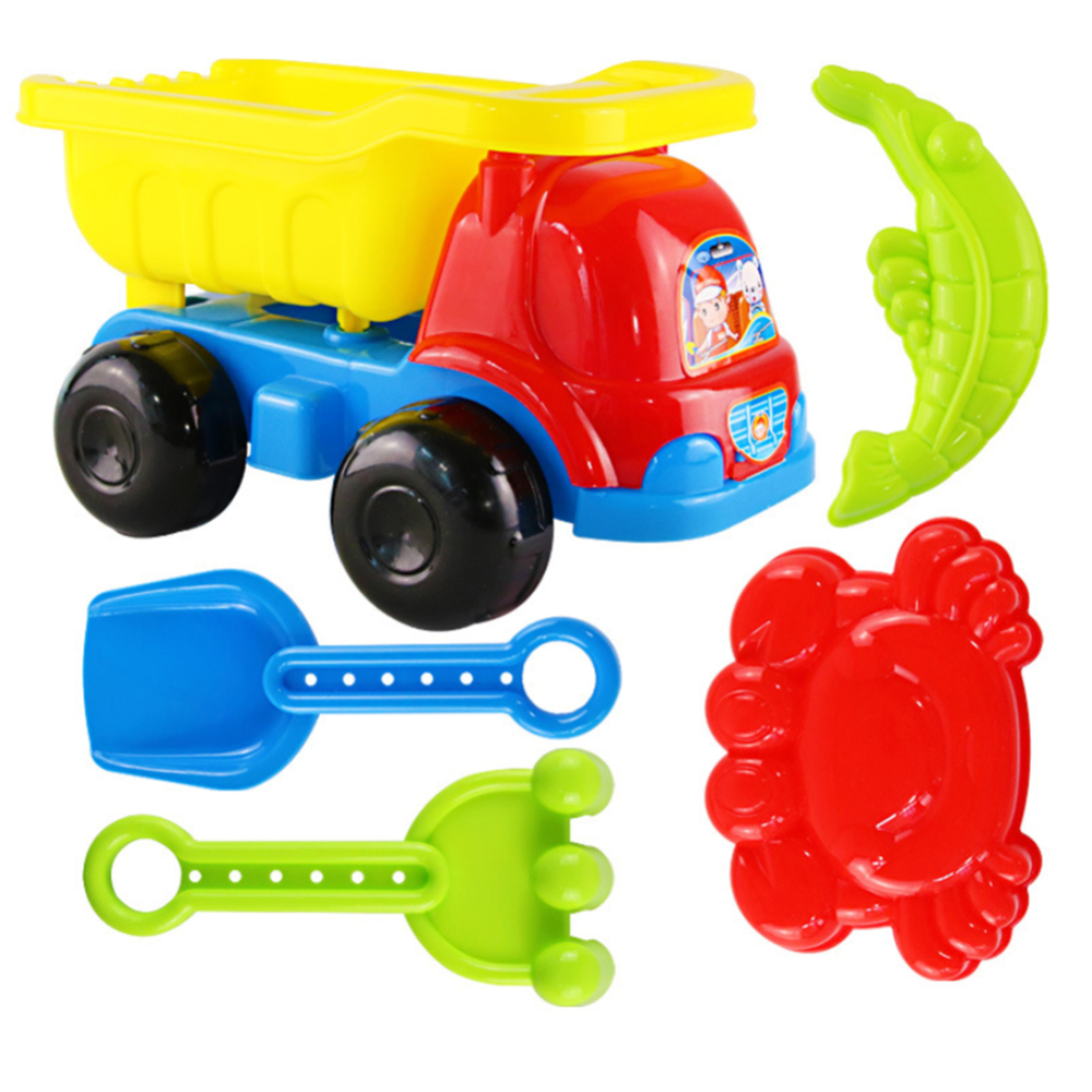 Beach Toys Set For Kids,Beach Set And Soft Plastic Pool Toy Set;Beach Toys Set For Kids