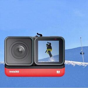 Image 3 - Temperli cam koruyucu kapak kılıf için GoPro git pro Hero5 Hero6 Hero7 Hero 5/6/7 siyah kamera lens LCD ekran koruyucu Film