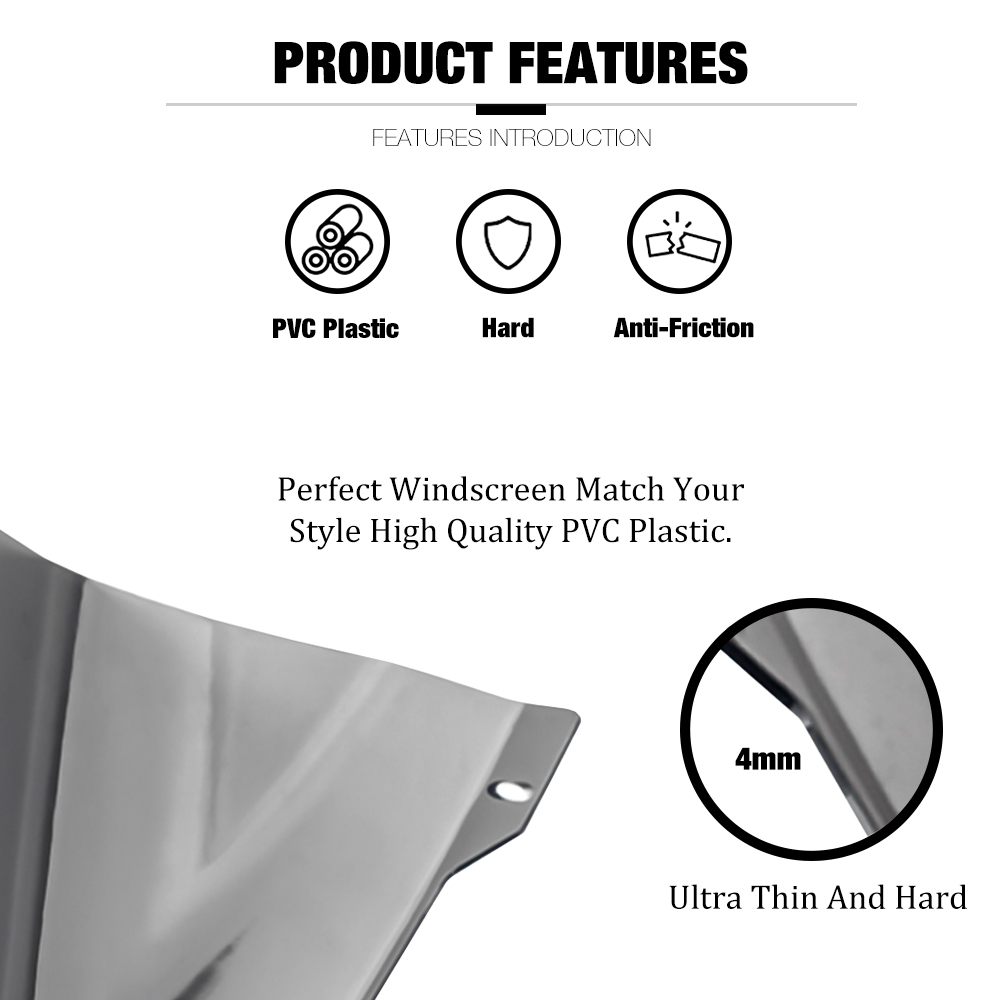 Windshield Pare-brise For YAMAHA MT 07 MT07 MT-07 FZ07 FZ-07 2018-2019 Motorcycle Accessories Windscreens Wind Deflectors