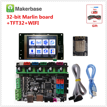 Compatible Marlin 2.0 Smoothieware card MKS SGEN L + MKS TFT 32 touch display + MKS WI-FI part 3d printer DIY upgrade devices фото