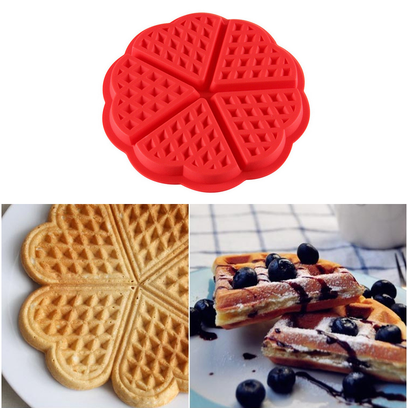 DIY Creative 3D Flower Fondant Cake Mold Silicone Waffles Mold Plum Shaped Cake Mold Food Grade Silicone Cake Mold Baking Mold