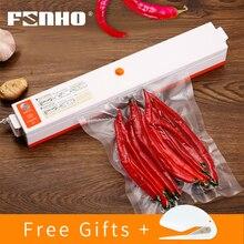 FUNHO 110 V-220 V лучший вакуумный упаковщик для пищевых продуктов Sous Vide вакуумная упаковочная машина контейнер для Пленки Пищевой упаковщик вакуумный упаковщик
