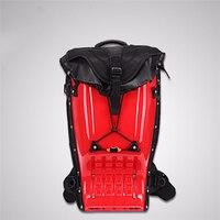 25L Motorcycle Riding Hard Shell Luggage Backpack Shoulder Waterproof Motocroos/Moto Racing Protective Drop ABS Tank Bags K01