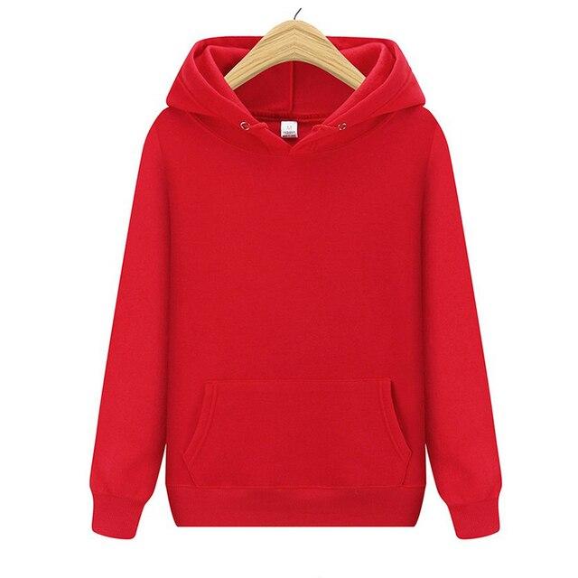 Fashion hoodie sweatshirt women christmas goods solid colors Hoodies Size S-XXXL 2