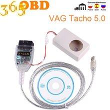 2020 vag tacho usb 5.0 versão com ftdi ft245rl suporta vdo para audi para vw para nec mcu 24c32 ou 24c64 vag tacho usb 5.0