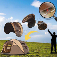 3 4 persons rainproof compact camping gazebo folding awnings fishing sun shelter inflatable beach outdoor flying portable tent