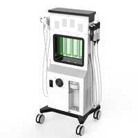 SPA Aqua propre Glowskin O + oxygène appareil de beauté du visage marteau froid HO Jet d'oxygène du visage Aqua Peel Dermabrasion Hydra Machine