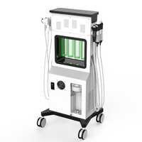 SPA Aqua Clean Glowskin O + urządzenie do pielęgnacji twarzy tlenu zimny młotek HO strumień tlenu twarzy Aqua Peel dermabrazja Hydra maszyna