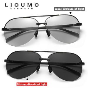 Image 3 - 항공 선글라스 남자 편광 된 브랜드 데이 나이트 비전 운전 안경 여성 photochromic sun glasses 남성 uv400 oculos de sol