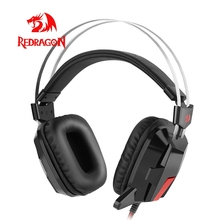 Redragon H201 Stereo Gaming Headset Gamer Voor Pc PS4 Xbox Computer Surround Pro Wired Computer Headsets Met Microfoon
