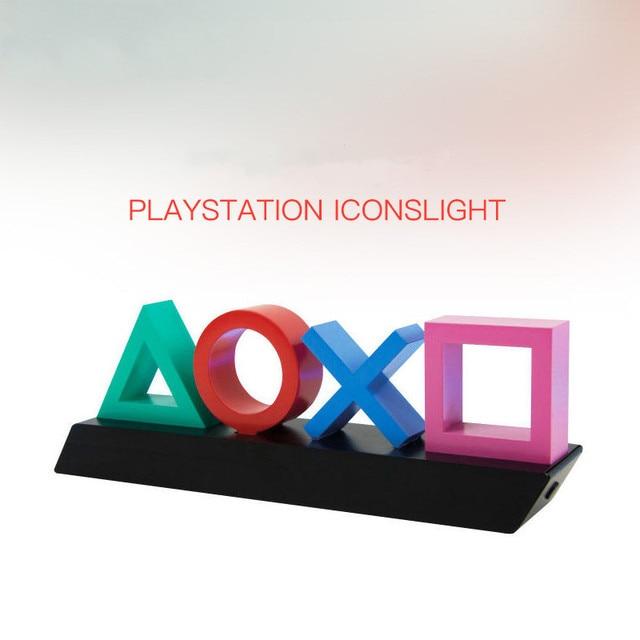Néon jeu de contrôle vocal icône lumière atmosphère acrylique barre lampe décorative Dimmable Bar Club KTV mur éclairage Commercial