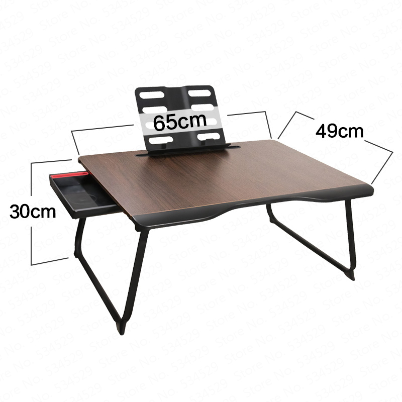 Bed Table Laptop Table Student Desk Bedroom Dormitory Bed Simple Folding Lazy Table Children Learning Bay Window Desk