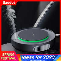 Baseus Car Air Purifier Filter Remove PM2.5 Formaldehyde Negative Ions Air Cleaner Ionizer Air Freshener Auto Mist Maker For Car