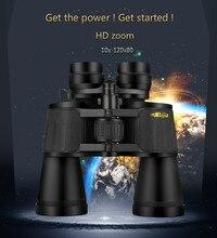 High-end binóculos de alta definição 10 × -120 × 80 zoom telescópio, equipamento necessário para acampar e caminhadas, concerto tour