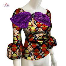 Весна 2020 африканские рубашки для женщин дашикис 6xl африканская