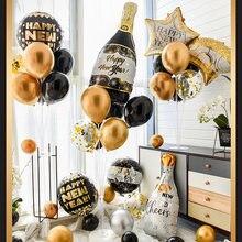 2021 новогодние вечерние украшения с новым годом воздушные шары