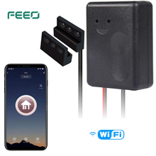 FEEO Smart Wi-Fi Garage Door Opener, Wireless Remote Smartphone APP Control, Compatible with Alexa, Google Assistant and IFTTT цены