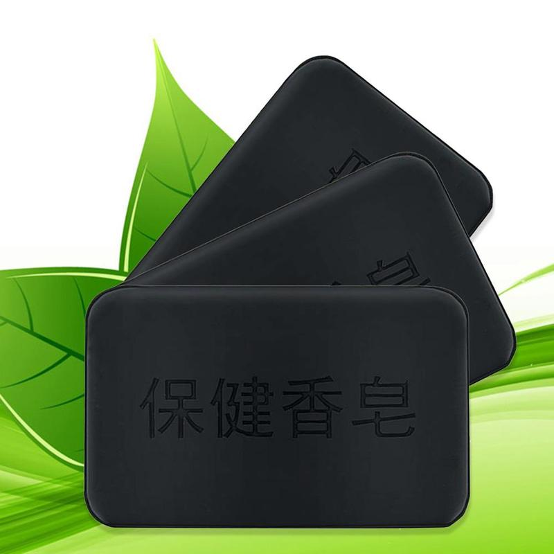 Handmade Bamboo Black Charcoal Soap Face Clear Anti Bacterial Whitening Soap Propolis Charcoal Soap