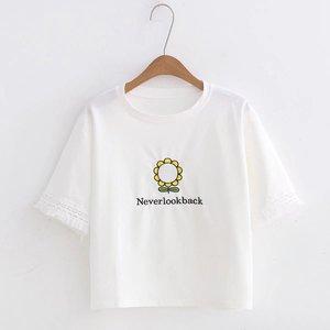 Новая женская футболка, женская футболка с коротким рукавом, цветная женская простая футболка, женская футболка