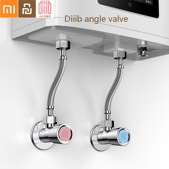 Diiib Dabai Universal Triangle Valve Angle Valve Bathroom Accessories Electroplate Filling Valves for Toilet Water Heater copper plated hot and cold water triangle valve water heater toilet faucet switch angle valve universal accessories