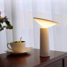 Сенсорный выключатель 3 режима светодиодный настольная лампа глаз Чтение Защита Dimmable USB Светодиодная настольная лампа ночник