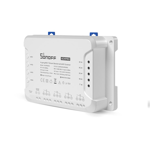 Image 3 - Sonoff 4CH פרו חכם בית RF Wifi אור מתג 4 כנופיית 3 עבודה מצבים התקדם משתלבים נעילה עצמית Wifi מתג לעבוד עם Alexa