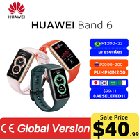 Huawei Band 6 Smartband Blood Oxygen 1.47''AMOLED Band6 Heart Rate Tracker Sleep monitoring Band 6 BR【CODE:BRTOPDEAL3 20-3$】 1